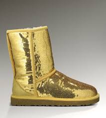 cheap ugg slippers sale ugg shoes sale usa ugg glitter boots 3161 gold uggs