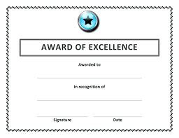 templates for scholarship awards template awards certificate template word award certificates
