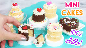 how to make mini cakes in an easy bake oven youtube