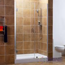 28 Shower Door Frameless Hinge Pivot Shower Door 28 Hinge Doors Shine Bathrooms