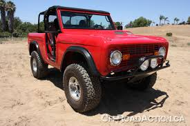 ford bronco jeep steve olliges 1971 ford bronco