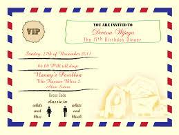 party invitation letter disneyforever hd invtation card portal part 456