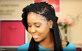 senegalese twist hairstyles are very popular that medium hair