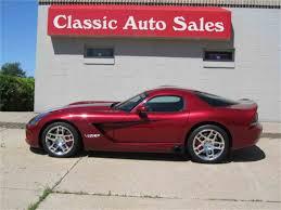 2008 dodge viper for sale classiccars com cc 988426