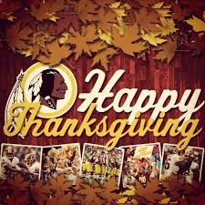 Happy Thanksgiving And Happy Holidays Washington Redskins On Happy Thanksgiving Redskins Nation