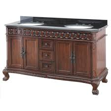 belle foret jhacvt6122 jordheim 61 in vanity in antique cherry