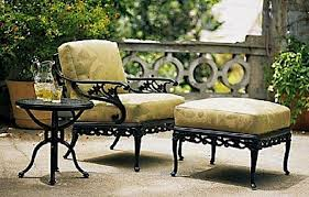 Patio Chairs With Cushions Outdoor Patio Chair Cushions Furniture Clearance Wrought Iron