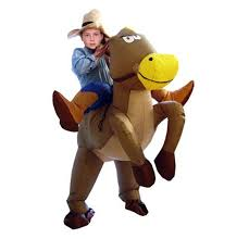 Horse Jockey Halloween Costume Compare Prices Inflatable Horse Costumes Shopping Buy
