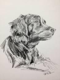 pet portrait 8x10 pencil sketch of your pet dog by jenniferhanson