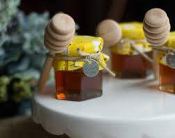honey jar wedding favors honey jar favors etsy