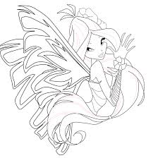 flora coloring pages flora sirenix coloring page 1 by mskittencreations on deviantart