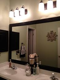 bathroom cabinets bathroom mirror frame corner wooden framed