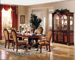 formal dining room sets ville table in cherry by acme woptions h