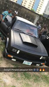 peugeot nigeria pictures of a pimped peugeot 504