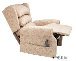Mobility Armchairs Cosi Chair Ellen Single Motor Rise And Recline Armchair Rise And