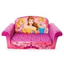 marshmallow furniture children u0027s 2 1 flip open foam sofa disney