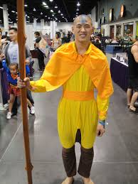 avatar the last airbender halloween costumes file wizard world anaheim 2011 aang the last airbender