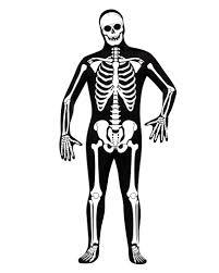 Skeleton Halloween Costume by Skeleton Skin Suit As A Skeleton Full Body Suit For Halloween