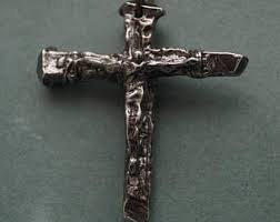 crucifixion nail etsy