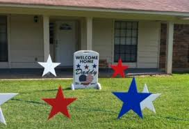 military welcome home decorations military dad home for father s day