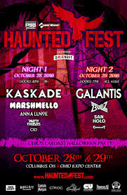 haunted fest to bring kaskade marshmello galantis for biggest