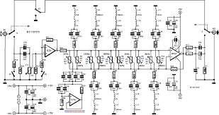 ten band equalizer circuit wiring schematic