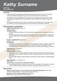 Bad Resumes Examples Of Resumes 87 Enchanting Sample Professional Resume