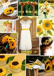 sunflower wedding 134 best sunflower wedding ideas images on wedding