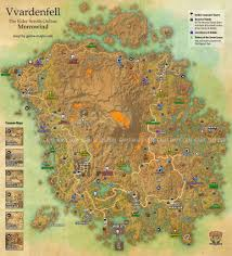 Fallout 2 World Map by Vvardenfell Map Eso Morrowind The Elder Scrolls Online Game