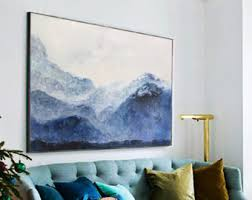 large abstract painting contemporary art oil painting extra