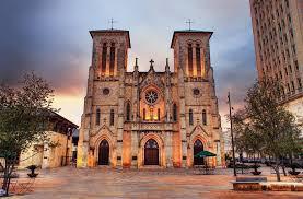 san fernando cathedral light show san fernando cathedral texas trail roundup