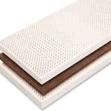 offerta materasso lattice materasso lattice e cocco matrimoniale la casa econaturale