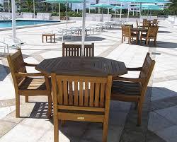 octagonal teak tables 6oct tbl 653 25 benchsmith com