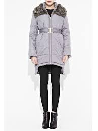 north face lixus jacket french connection juliette jacket in gray lyst