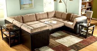 sofa microsuede sectional sofas favorite microfiber sectional