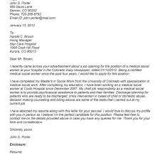 social worker cover letter example cover letter respite worker