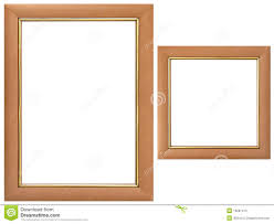wood frames set of wood frames stock image image of picture painting 10281413