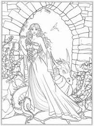 venus greek beauty goddess detailed coloring pages grown ups