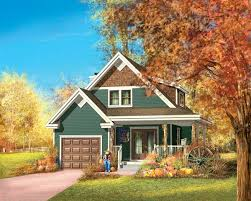 plan 80730pm two story craftsman cottage house plans cottages