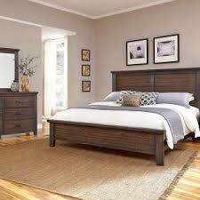 furniture vaughan bassett furniture forsyth panel bed with dark