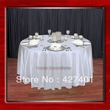 wedding table linens for sale sale white shaped poly satin table cloth wedding meeting party
