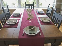 table setting runner and placemats table runner new 703 table runners with matching placemats dining