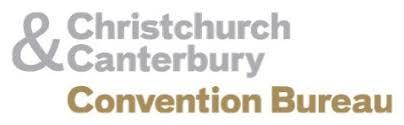 Convention Bureau Christchurch Canterbury Canterbury Out In At Cinz Meetings 2017 Australasian