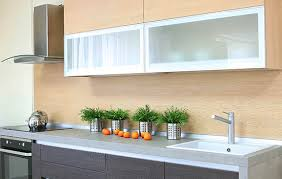 glass cabinet doors with aluminum frame