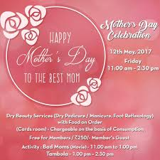 Bad Mothers Mothers Day Celebration At V Club 12th May 2017