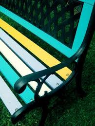Wrought Iron Bench Wood Slats Diy Projects And Ideas For The Home Coats Protective And Of
