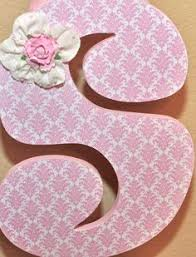 Decorated Letters For Nursery Wooden Nursery Letters Baby Nursery Decor Wall Letters