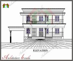 Floor Plans With Measurements 1800 Sq Ft House Plan With Detail Dimensions Architecture Kerala