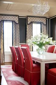 decorative curtain with matching valances and white antler