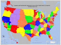 United States Map By Population by A Study On Regional Governments New Urbanism In The News